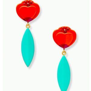 New Kate Spade best buds statement earrings